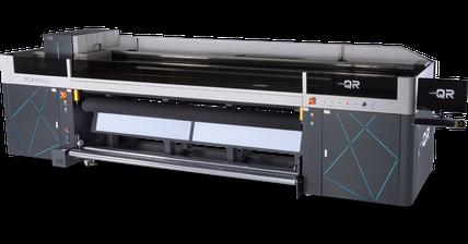 Macchina per la stampa industriale UV-LED roll to roll Liyu Italia