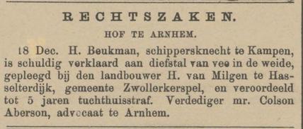 Provinciale Overijsselsche en Zwolsche courant 20-12-1882