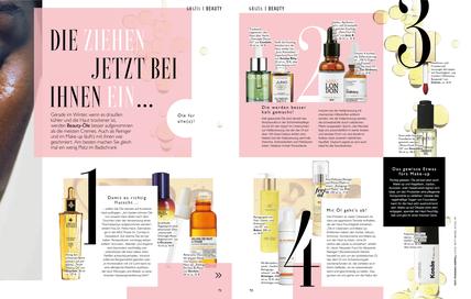 """Beitrag von Dr. Petra Hack im Grazia Magazin: """"Öle für alle(s)!"""""""