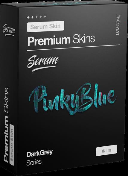 xFer Serum Skin PinkyBlue Software Box
