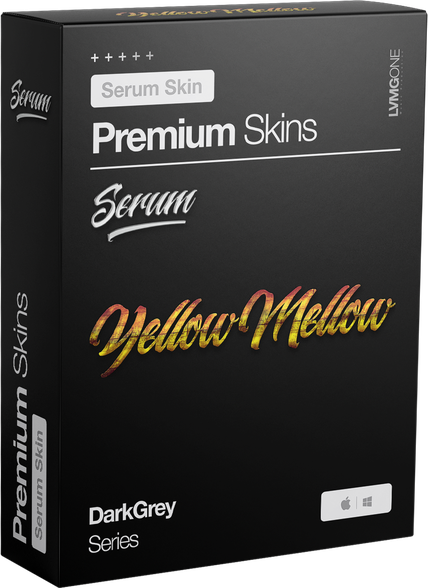 xFer Serum Skin YellowMellow Software Box