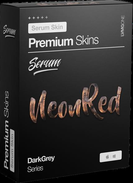 xFer Serum Skin NeonRed Software Box