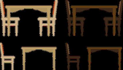 笠間市のテーブル、机などの家具処分
