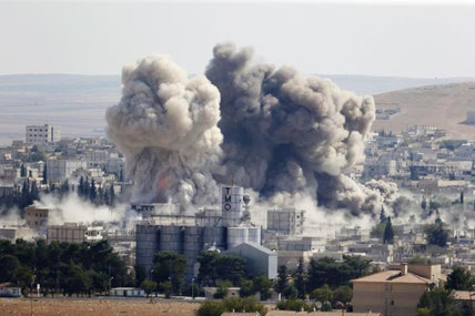 al-Raqqa, august / september 2017
