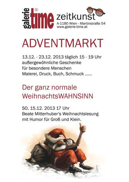 Galerie Time Kulturkreis Wien Pause Günther W. Wachtl Gezwungene Pause Beate Mitterhuber
