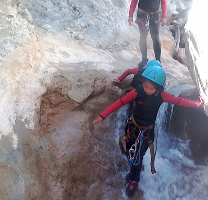 Canyon des gorges de galamus, saint paul de fenouillet
