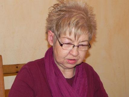 Katrhin Federsen, eine von fünf Frauen beim Frauentag bei Berlin Backgammon