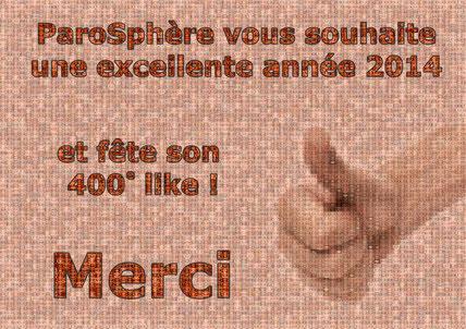 ParoSphère | 400 likes sur Facebook