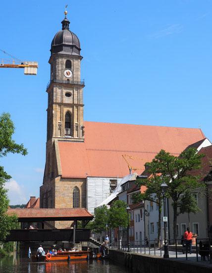 Plättenfahrt in Amberg