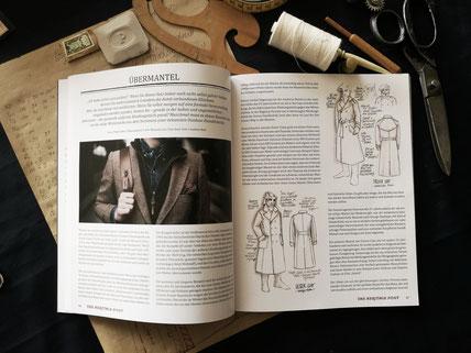 Maßmantel Berlin m.leis MAENTEL Veröffentlichung meiner Zeichnungen in der neuesten Ausgabe der Heritage Post- dem Magazin für Herrenkultur