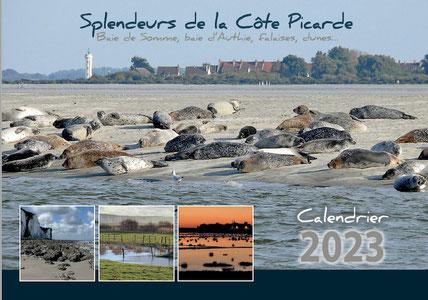 Calendrier Sens Naturel, Baie de Somme, Côte Picarde, Baie d'Authie, Falaises, photos, photographies
