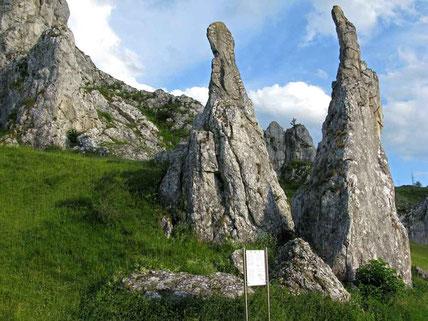 © Traudi - Eselsburger Tal -  die Steinernen Jungfrauen