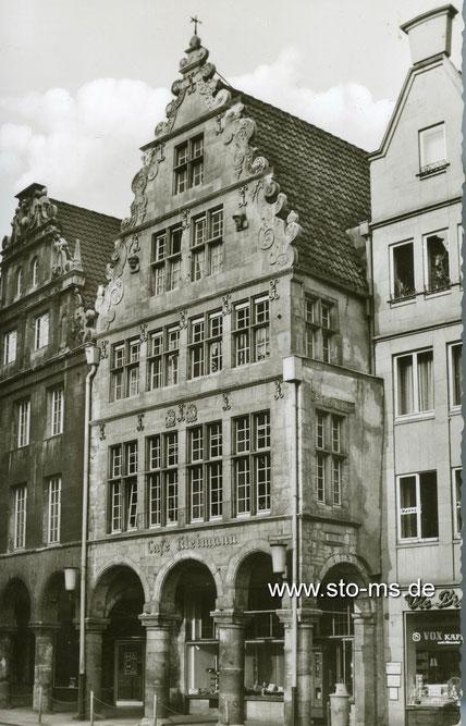 Café Kleimann um 1960 - Unbekannter Fotograf