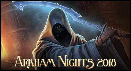 Arkham Nights 2018 in Düsseldorf