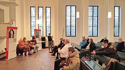 Sinti Swing Oldenburg in der Auferstehungskirche