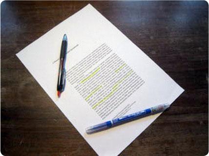 Korrekturlesen und überprüfen von deutschsprachigen Texten und Übersetzungen bezüglich Stil, Grammatik und Orthographie