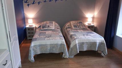 lits jumeaux à commande électrique