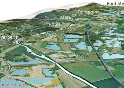 L'ouvrage de Longueil-Sainte-Marie, sur huit communes, pour partie non adhérentes à l'Entente. Aurait-il pu être construit avec GEMAPI ?