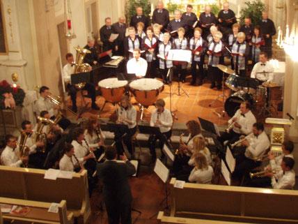 Der kleinste Musikverein im Hegau am Adventskonzert 2007