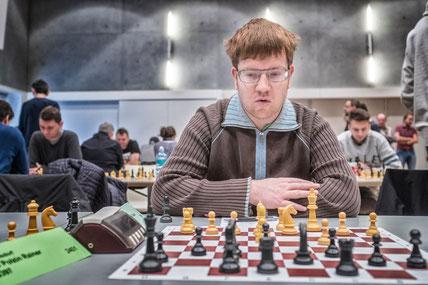 Florian Sandhöfner konnte diesmal nicht punkten. Ein seltener Vorfall.