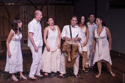 """""""Vestigios del viento"""" en   el Teatro Varasanta"""