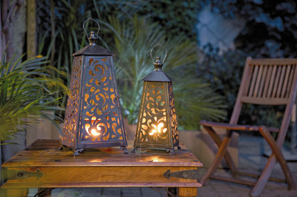 Blog Archi'Tendances, Rubrique Décoration, lumière au jardin - Nortene