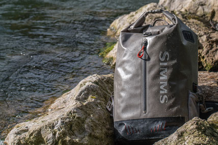 Simms dry creek rolltop backpack - danica dudes flyfishing blog