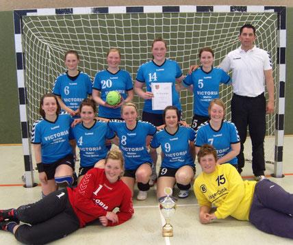 DHB Kreispokalsieger 2010 TSV Alt Duvenstedt und Teilnehmer an der 1. Runde auf Landesebene