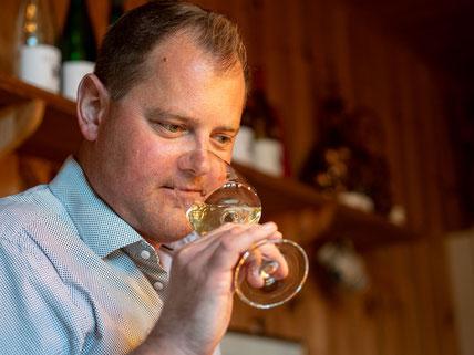 Christian Hiller vom Weingut Hiller
