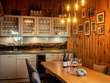 Probierstube Weindegustation Weingut Hiller