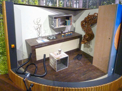 AWohnzimmer Mit Holz gemacht