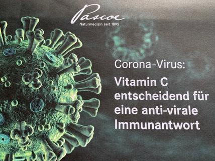 Die Firma Pascoe empfiehlt Vitamin C