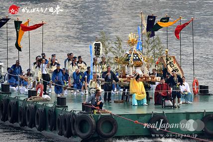 住吉神社例祭(船渡御) @2015.08.02