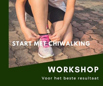 Chiwalking in Almere en Blaricum, geen pijn meer tijdens het wandelen