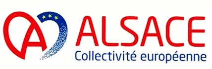 Logo provisional de la Colectividad Europea de Alsacia