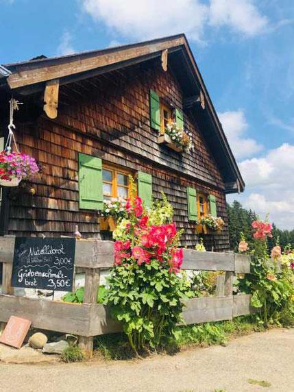 Alpe Burgerschläg bei Wertach