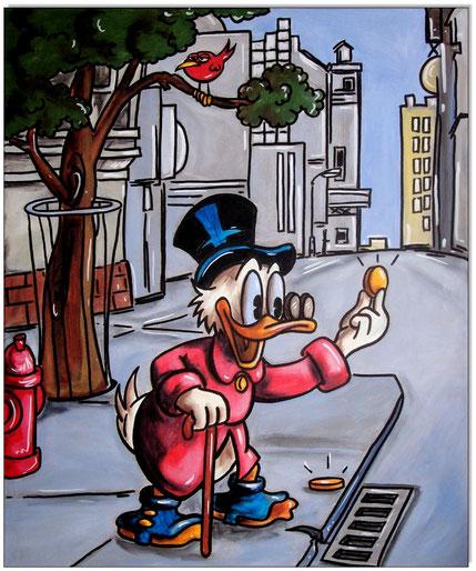 Dagobert Duck Money found