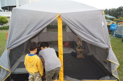 コールマン ツールームテント