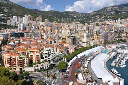 Monaco (MC), 2018 - Panorama from the Rock