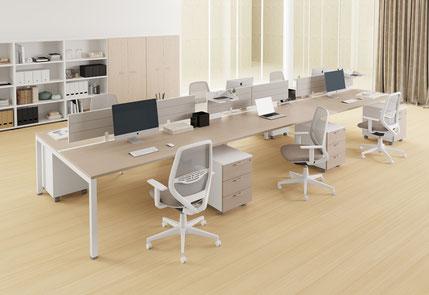 Scrivanie per ufficio, Arredare l'ufficio, Scrivanie da ufficio per più persone, Scrivanie operative per ufficio