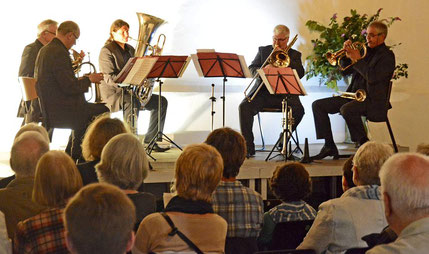 International Brass auf Haus Hall - Foto: Knappe