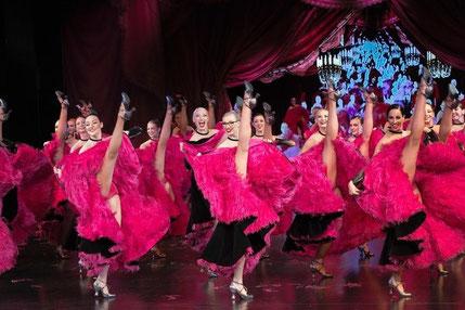 Danse, show, comédie musicale, spectacle dansant