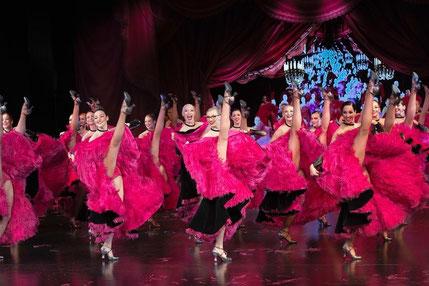 Paris, show, cabaret