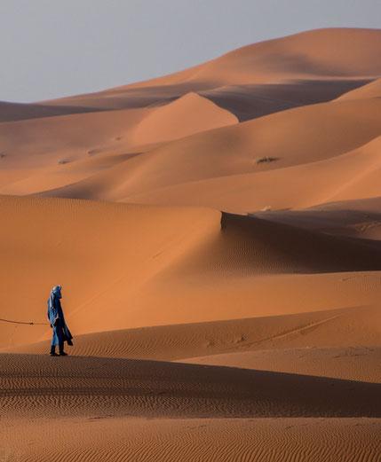 Erg Chebbi, il deserto a Merzouga