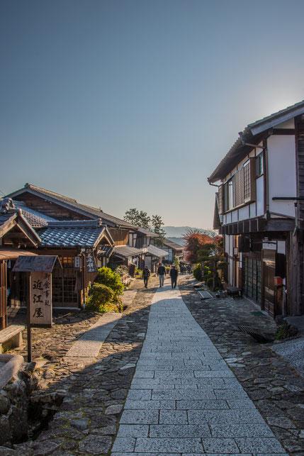 La via Nakasendō a Magome