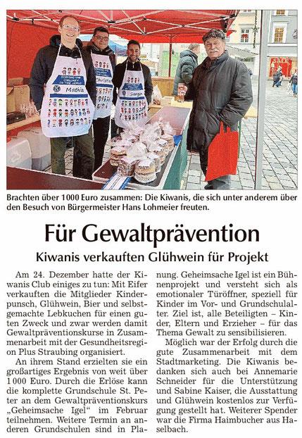 Straubinger Tagblatt vom 27.12.2018