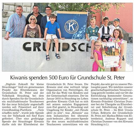 Straubinger Tagblatt vom 06.08.2018