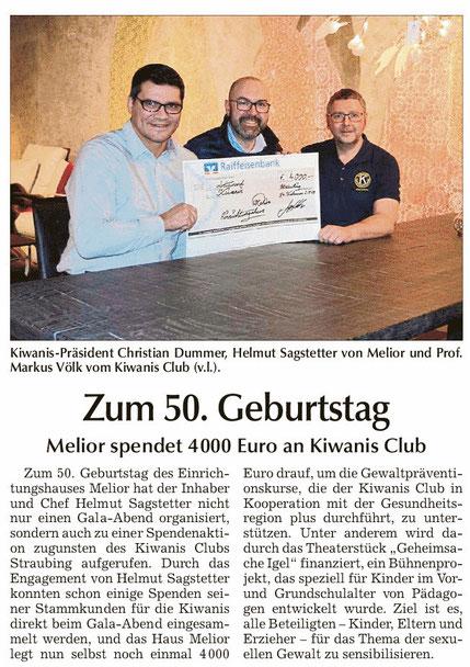 Straubinger Tagblatt vom 16.02.2019
