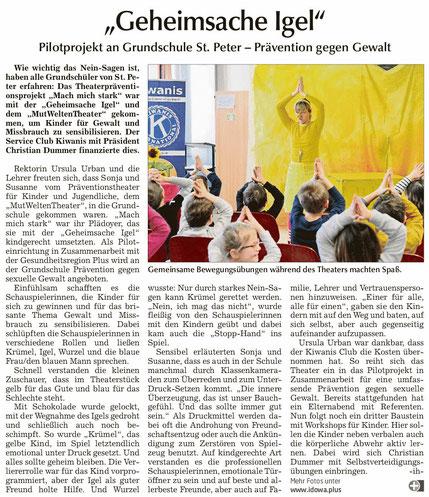 Straubinger Tagblatt vom 20.02.2019