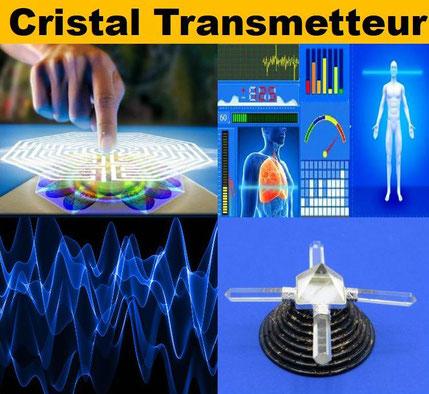 Cristal transmetteur - casa bien-être.fr